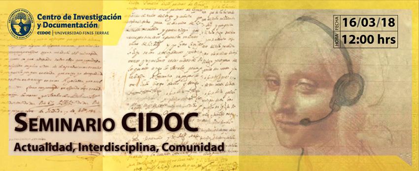 SeminarioCIDOC. Actualidad, Interdisciplina, Comunidad.