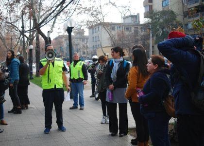 Comunidad Finis Terrae participó en sorpresivo simulacro de evacuación ante emergencias
