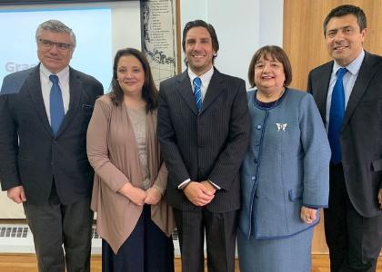 Académica de Derecho U. Finis Terrae dictó charla en Corte de Apelaciones de Punta Arenas