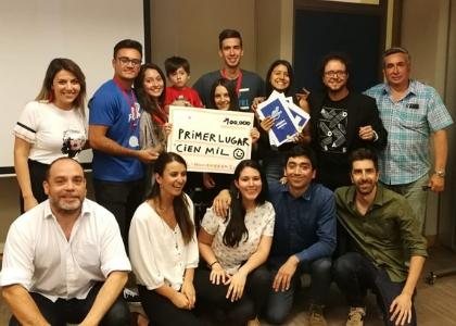 Aplicación que promueve la compra y venta de alimentos dentro de la universidad ganó el 1° lugar del concurso de Creatividad 2018