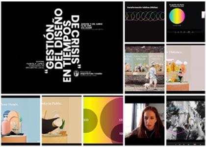 """Fabiola López realizó charla """"Gestión del diseño en tiempos de crisis"""""""