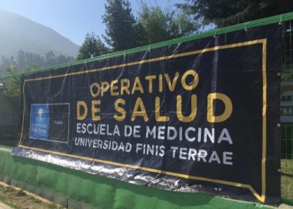 Escuela de Medicina de la U. Finis Terrae realizó 5º operativo de salud rural en Hijuelas
