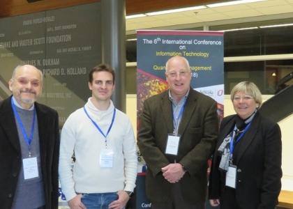 Académicos de la Facultad de Ingeniería expusieron en Conferencia Internacional en Estados Unidos