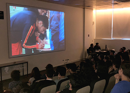Exitosa muestra audiovisual anual de alumnos de periodismo