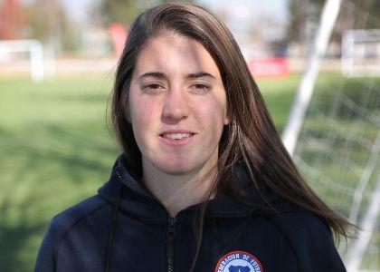Rosario Balmaceda, delantera Selección Chilena de Fútbol Femenino: