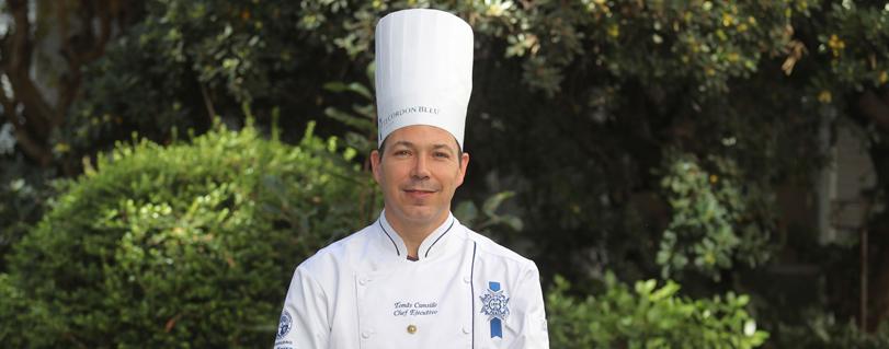 Tomás Cumsille, chef ejecutivo de Dirección y Gestión de Artes Culinarias: