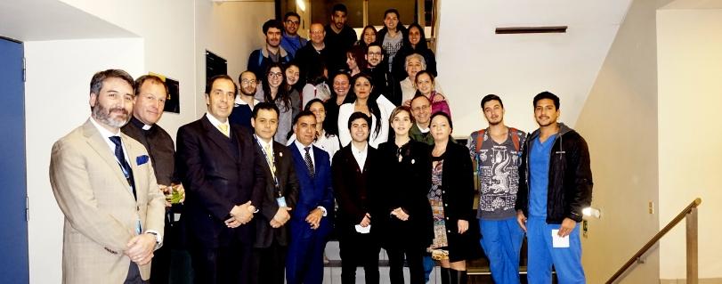 Facultad de Odontología realizó ceremonia de reinauguración y bendición del Campo Clínico Pedro de Valdivia