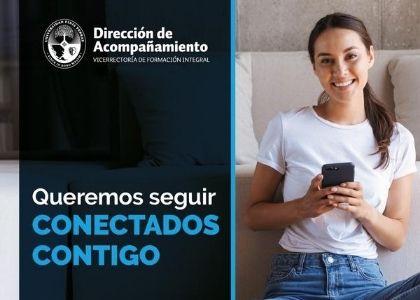 """Voluntarios de """"Conectados contigo"""" seguirán disponibles para conversar durante las vacaciones de invierno"""