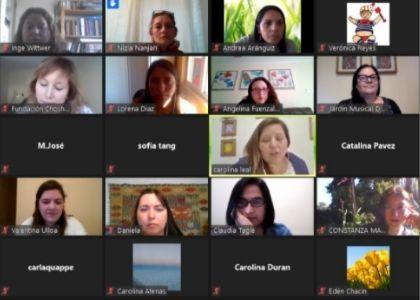 Pedagogía en Educación Parvularia realizó conversatorio sobre el modelo de prácticas simuladas en contexto de pandemia de COVID-19