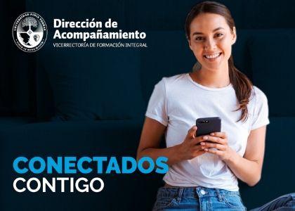 """Universidad Finis Terrae genera iniciativa """"Conectados contigo"""" para fomentar conversaciones de acompañamiento para la comunidad universitaria"""