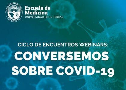 """Ministra Karla Rubilar será la primera invitada del ciclo webinars """"Conversemos sobre COVID-19"""" de Medicina U. Finis Terrae"""