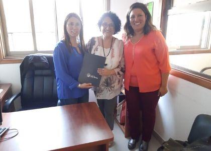 Carrera de Pedagogía en Educación Parvularia firma importante convenio con JUNJI de la Región de los Ríos