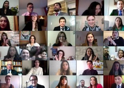 Universidad Finis Terrae celebró de manera online la titulación de más de 200 nuevos profesionales