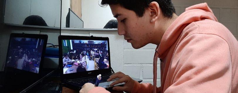 Línea de Formación Práctica de Pedagogía en Educación Parvularia potenció el uso de Videoteca como recurso para fomentar el aprendizaje y la reflexión de los estudiantes