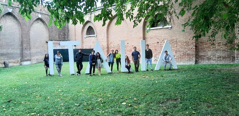 Estudiantes de Arquitectura viajaron a Venecia en el Viaje de Estudios 2019