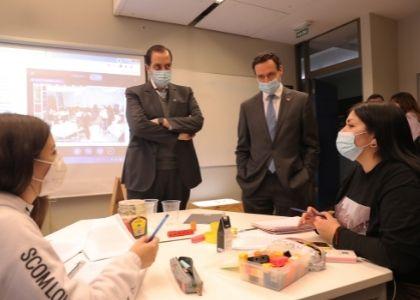 Subsecretario de Educación Superior destacó el proceso de retorno a las clases presenciales desarrollado por la U. Finis Terrae