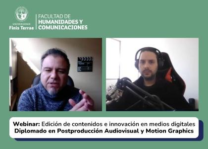 """Felipe León: """"Ya no es un plus manejarte con Photoshop, Premiere Pro y redes sociales, hoy lo tienes que saber"""""""