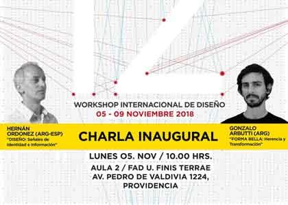 Los diseñadores Hernán Ordoñez y Gonzalo Arbutti encabezarán Workshop Internacional de Diseño