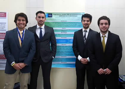 Alumnos de la Escuela de Odontología participaron en el XXII Congreso Nacional de Estudiantes de Odontología 2017